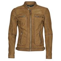 Textiel Heren Leren jas / kunstleren jas Oakwood PLEASE Cognac