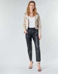 Textiel Dames 5 zakken broeken Oakwood GIFT Zwart