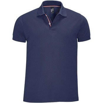 Textiel Heren Polo's korte mouwen Sols PATRIOT FASHION MEN Azul