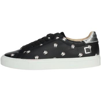 Schoenen Dames Lage sneakers Date I19-39 Black