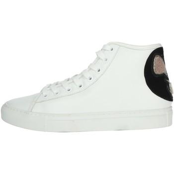 Schoenen Dames Hoge sneakers Date I19-69 White
