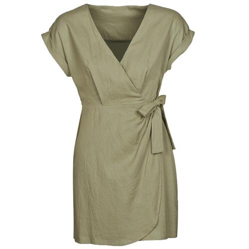 Textiel Dames Korte jurken Pepe jeans JULEITA Kaki
