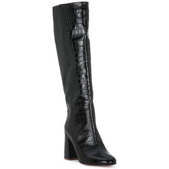 Schoenen Dames Hoge laarzen Priv Lab COCCO NERO Nero