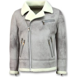 Textiel Heren Wind jackets Tony Backer Imitatie Bontjas - Lammy Coat - Grijs