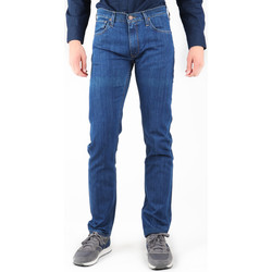 Textiel Heren Straight jeans Lee Daren L707AA46 navy