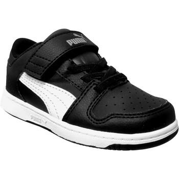 Schoenen Jongens Lage sneakers Puma Pm rebound layup lo sl v Zwart