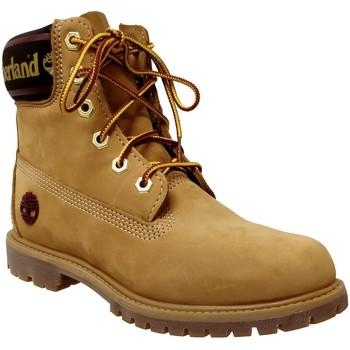 Schoenen Dames Laarzen Timberland A25mk Premium 6 in Nubuck geel