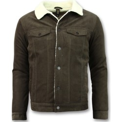 Textiel Heren Wind jackets Tony Backer Trucker Jack - Spijkerjas - Bruin