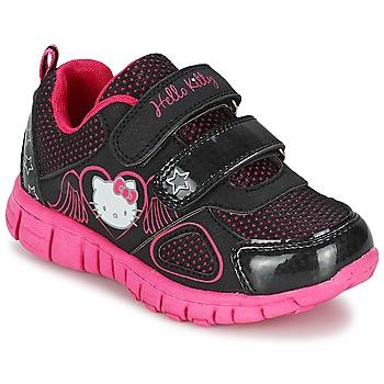 Schoenen Meisjes Lage sneakers Hello Kitty BASEMO PHYL Zwart