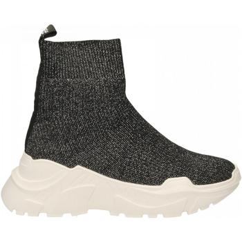 Schoenen Dames Hoge sneakers Emanuélle Vee SNEAKER CALZINO black