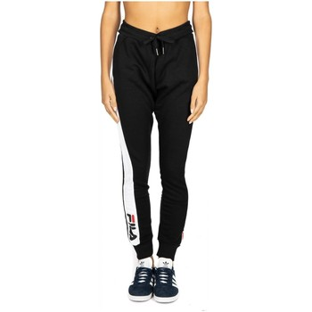 Textiel Dames Trainingsbroeken Fila WOMEN FREYA sweat slim pant e09-black-bright-white
