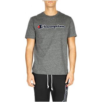 Textiel Heren T-shirts & Polo's Champion Crewneck T-Shirt em516-grdkm-grigio-scuro
