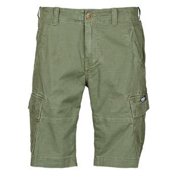 Textiel Heren Korte broeken / Bermuda's Superdry CORE CARGO SHORTS Draft / Olijf