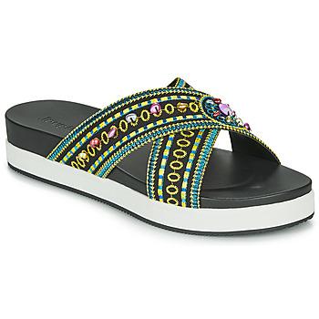 Schoenen Dames Leren slippers Desigual SHOES_NILO_BEADS Zwart