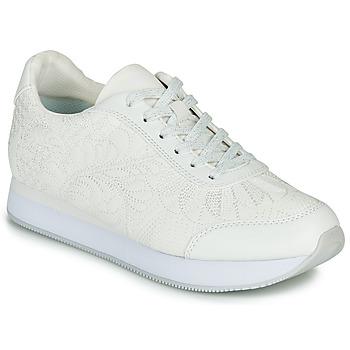 Schoenen Dames Lage sneakers Desigual GALAXY LOTTIE Wit