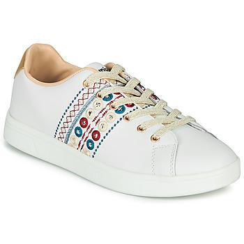 Schoenen Dames Lage sneakers Desigual COSMIC NEW EXOTIC Wit