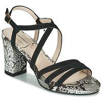 Schoenen Dames Sandalen / Open schoenen Metamorf'Ose GABARIT Zwart / Slang