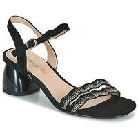 Schoenen Dames Sandalen / Open schoenen Metamorf'Ose GABERNIK Zwart