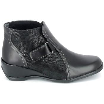 Schoenen Dames Laarzen Boissy Boots Noir Zwart