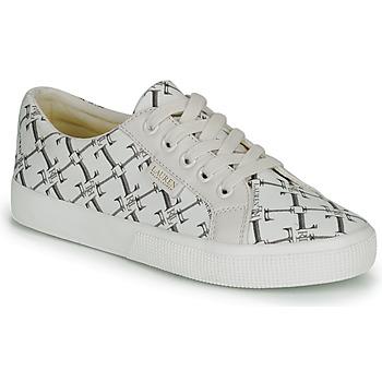Schoenen Dames Lage sneakers Lauren Ralph Lauren JAYCEE NE SNEAKERS VULC Creme