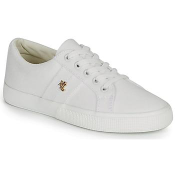 Schoenen Dames Lage sneakers Lauren Ralph Lauren JANSON II Wit