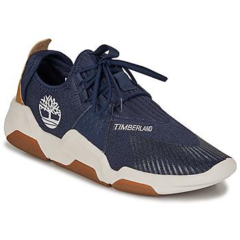 Schoenen Heren Lage sneakers Timberland EARTH RALLY FLEXIKNIT OX Blauw