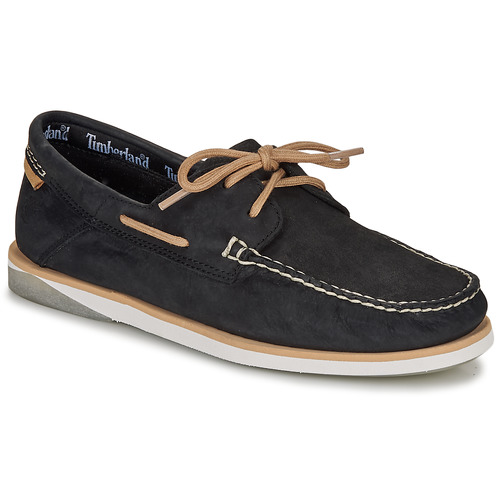 Schoenen Heren Bootschoenen Timberland ATLANTIS BREAK BOAT SHOE Zwart