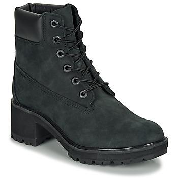 Schoenen Dames Enkellaarzen Timberland KINSLEY 6 IN WP BOOT Zwart