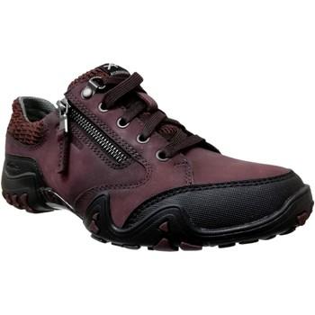 Schoenen Dames Lage sneakers Allrounder by Mephisto Fanita Bordeauxrood / zwart