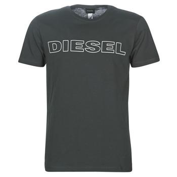 Textiel Heren T-shirts korte mouwen Diesel UMLT-JAKE Grijs