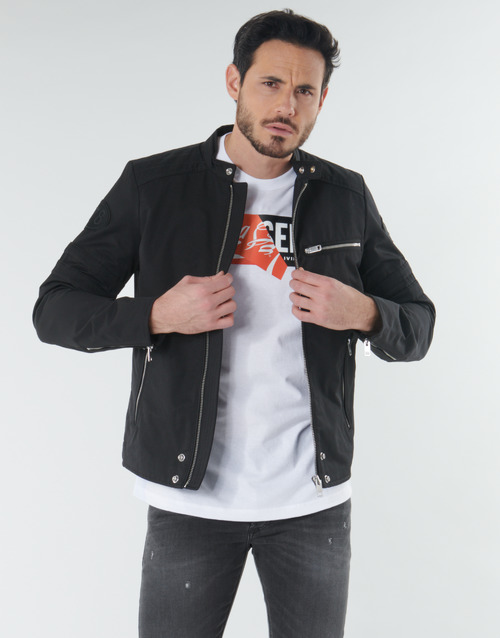 Textiel Heren Wind jackets Diesel J-GLORY Zwart