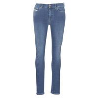 Textiel Dames Skinny jeans Diesel D-ROISIN Blauw