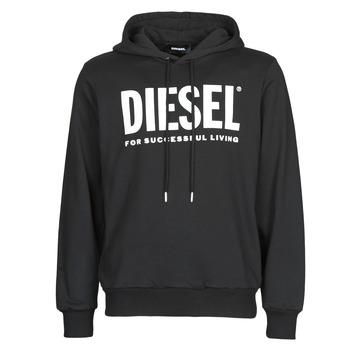 Textiel Heren Sweaters / Sweatshirts Diesel GIR-HOOD-DIVISION Zwart