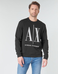 Textiel Heren Sweaters / Sweatshirts Armani Exchange HELIX Zwart