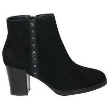 Schoenen Dames Enkellaarzen Stepfly 9022 Noir
