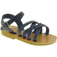 Schoenen Heren Sandalen / Open schoenen Attica Sandals HEBE NUBUK BLUE blu