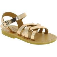 Schoenen Meisjes Sandalen / Open schoenen Attica Sandals HEBE CALF GOLD PINK Oro rosa