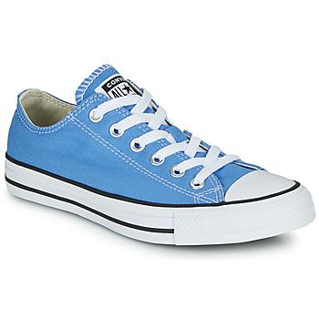 Schoenen Dames Lage sneakers Converse CHUCK TAYLOR ALL STAR SEASONAL COLOR Blauw