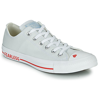 Schoenen Dames Lage sneakers Converse CHUCK TAYLOR ALL STAR LOVE CANVAS - OX Wit / Rood