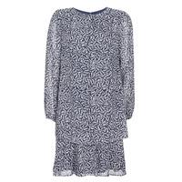 Textiel Dames Korte jurken Lauren Ralph Lauren Alois Marine / Wit