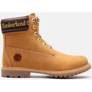 Schoenen Dames Enkellaarzen Timberland 6in prem w/sock colar Bruin