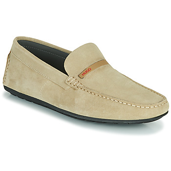 Schoenen Heren Mocassins HUGO DANDY MOCC SD2 Beige
