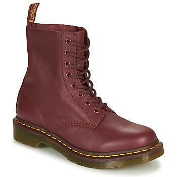 Schoenen Dames Laarzen Dr Martens 1460 Rood