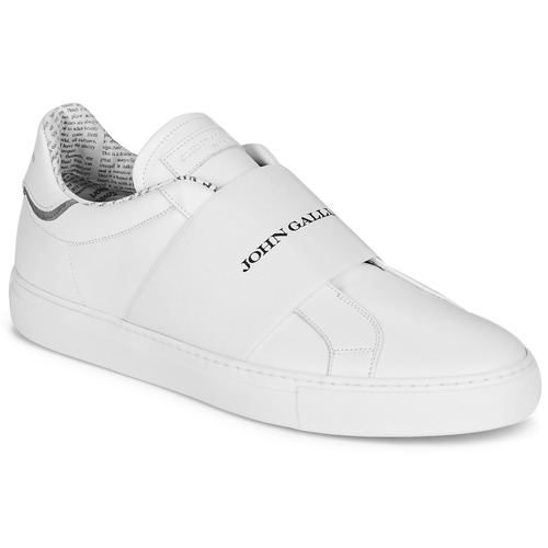 Schoenen Heren Lage sneakers John Galliano 2244A Wit