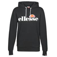 Textiel Dames Sweaters / Sweatshirts Ellesse PICTON Zwart