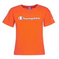 Textiel Dames T-shirts korte mouwen Champion KOOLATE Rood
