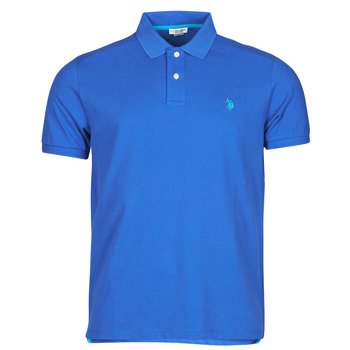 Textiel Heren Polo's korte mouwen U.S Polo Assn. INSTITUTIONAL POLO Blauw