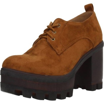 Schoenen Dames Derby & Klassiek Different 8135 Bruin