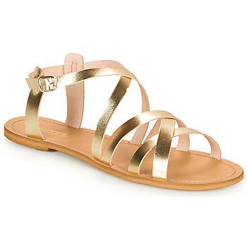 Schoenen Dames Sandalen / Open schoenen So Size IDITRON Goud