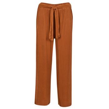 Textiel Dames Losse broeken / Harembroeken Moony Mood MERONAR Roest